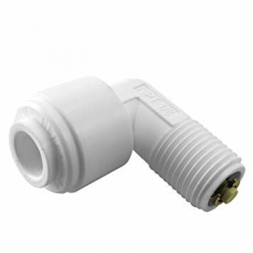 Check Valve 1/8'NPTFx1/4' Quick Connector Angular