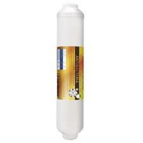 "Antibacterial Post Carbon Filter 10""x2"" Fluxte..."