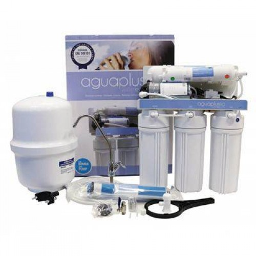 Aqua Plus Alkaline Remineralizer (5-Stage, With Pump, 50GPD)