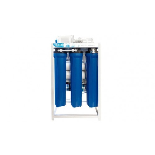 C-1200 Commercial/Semi-Industrial RO System|1000 L/Day |2x600 GPD, 4-Stage