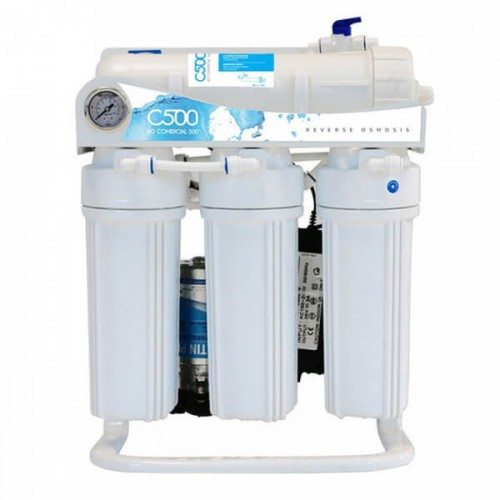 C-500 Commercial Alcaline (Remineralizer) Direct Flow RO System|400 GPD, 5-Stage