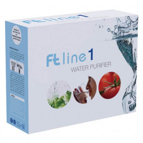 FT-Line 90 Granular Activated Carbon with Silver and Silico-polyphosphates (Green Filter)